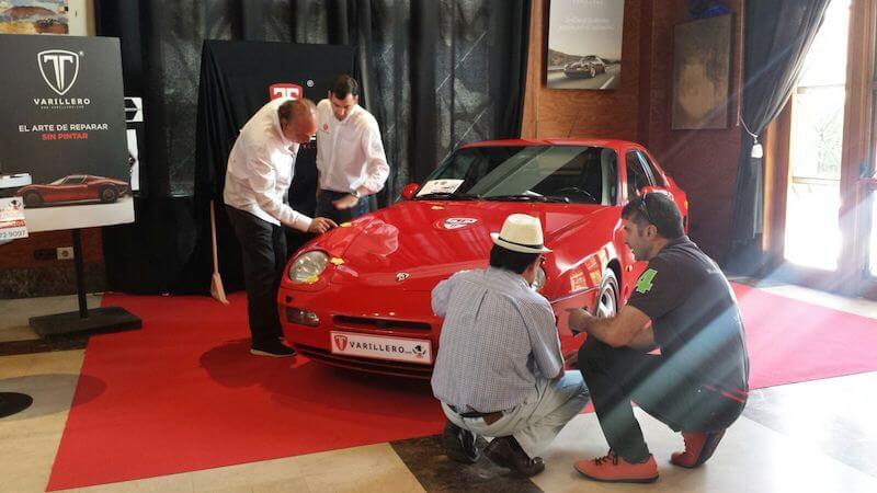 coche clasico porsche 968