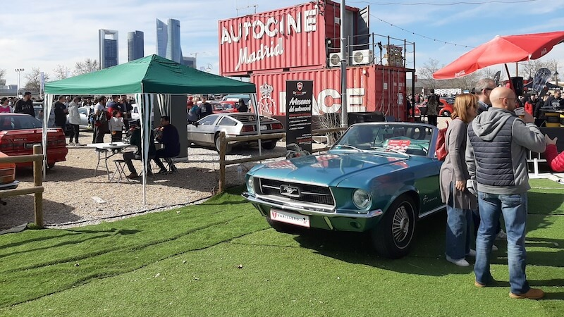 ford mustang 1967 autocine madrid