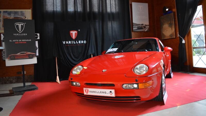 porsche 968 rojo clasico