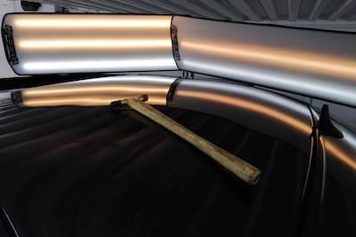 daños techo coche
